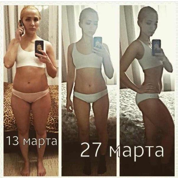 Диета для похудения результаты